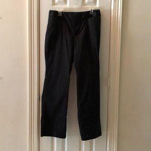 Dockers Black Ideal Fit Sydney Pants Size 14 Med